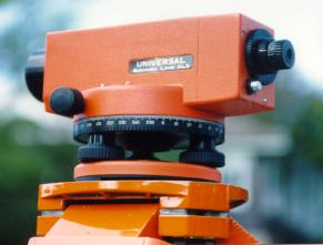 Orange AL3 used for automatic levelling