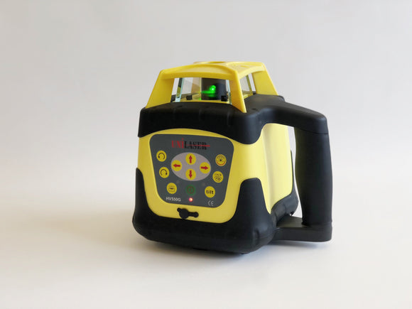Black and Yellow Unilaser HV550G with horizontal self-levelling