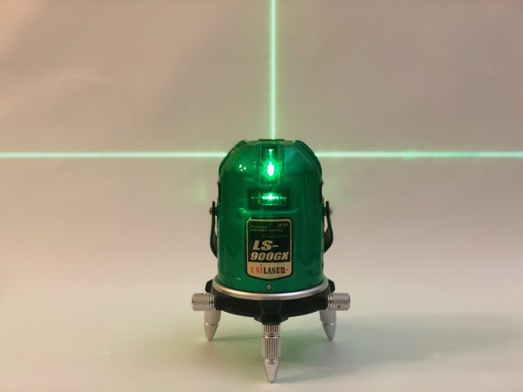 Green Unilaser LS900GX with four green vertical lasers and one horizontal