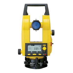 Yellow and Black Leica Builder 109 Theodolite used for accurate plumbing
