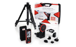 Leica DISTO S910 package with the FTA 360 and TRI 70 tripod