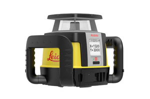 Black and yellow Leica Rugby CLI Base Unit with upgradable options