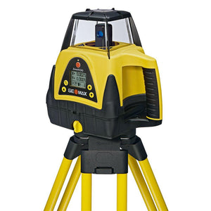 Yellow and black GeoMax Zone70 DG used for levelling or grading applications
