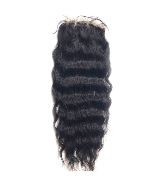 "6""x6"" Charleigh Curly Virgin Remy Human Hair Lace Hair Topper"