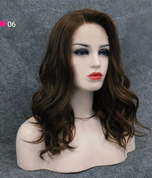"8.5""*9"" Hope Wavy Synthetic Mono Hair Topper"