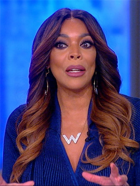 Brown Capless Wavy 18 Wendy Williams Wigs
