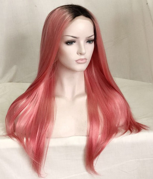 Pink Lemonade - Remy Human Hair Lace Wig
