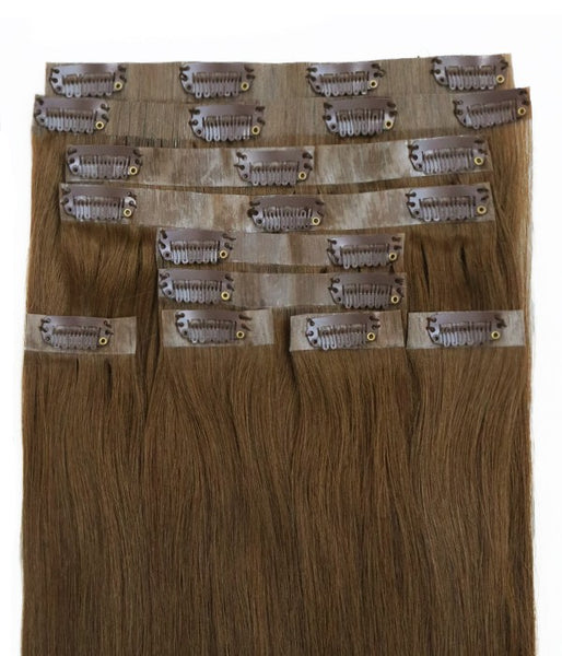 Sophie 10 Piece Invisible Clip-in Superior Remy Human Hair Extensions