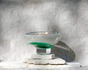Emerald candle