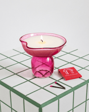 Load image into Gallery viewer, Pink Candle & Incense holder