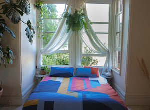 Structures Quilt Cover