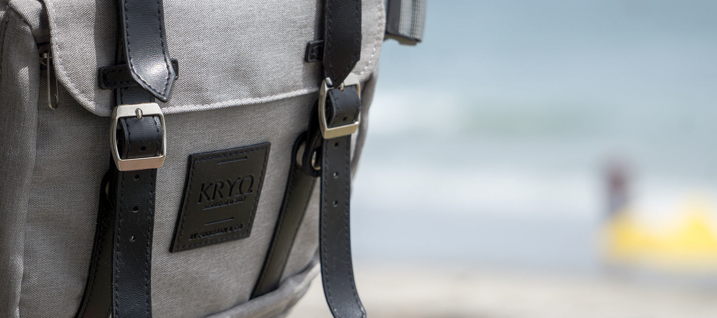 KRYO Insulated Backpack at beach