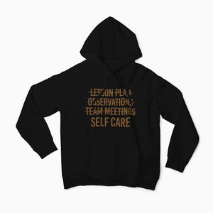 Self Care First Toffee Hoodie