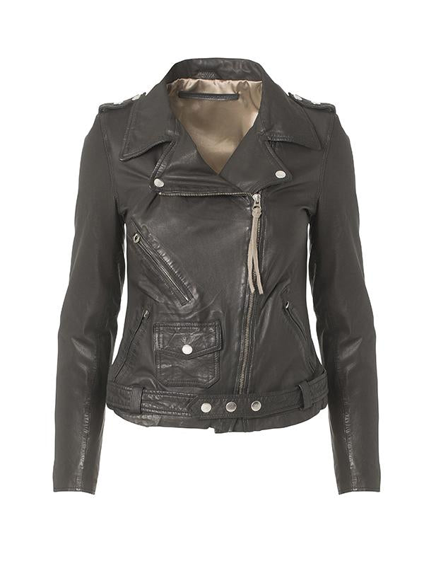 London Thin Leather Jacket