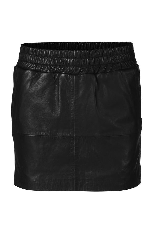 Vera Leather Skirt