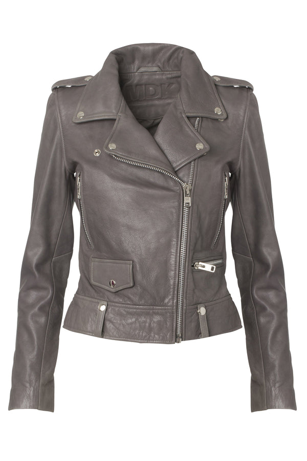 Seattle cow leather jacket