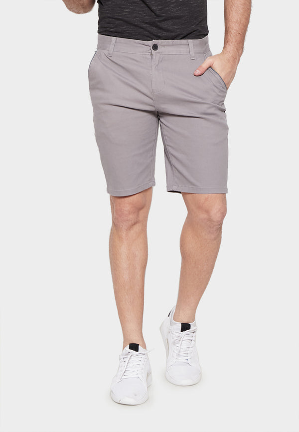 Cement Grey Chino Shorts