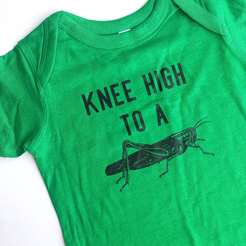 Knee High Infant Onesie