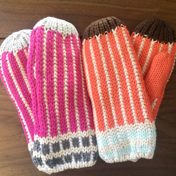 Elsa Cable Knit Mittens