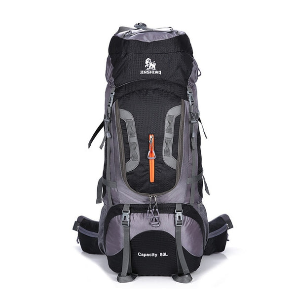 80L Camping Hiking Backpacks Big Outdoor Bag Backpack Nylon superlight Sport Travel Bag Aluminum alloy support 1.65kg