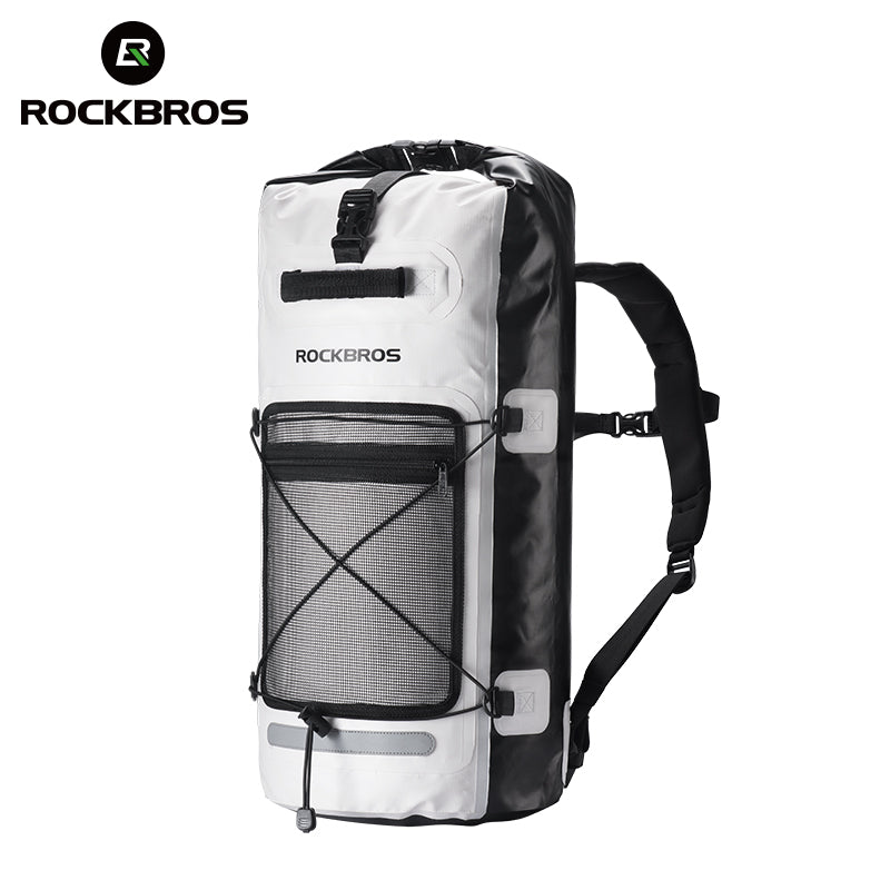 ROCKBROS Bike Luggage Bags Waterproof Outdoor Sports Cycling Hiking Travel Bag Portable Folding Bicycle Backpack