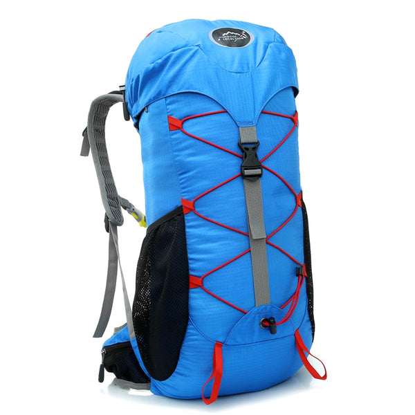 30L Large Outdoor Waterproof Backpack Camping Bag Hiking Backpacks Waterproof Mountaineering Travel Sports Bag Climbing Rucksack