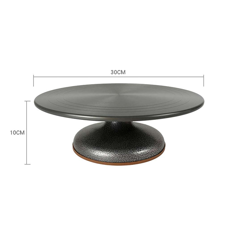 12 Inch Aluminium Alloy Cake Decorating Turntable