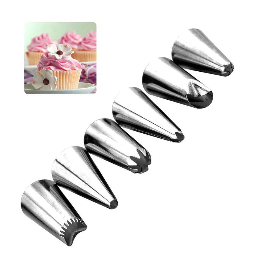48 Pcs Russian Tulip Rose Flowers Piping Nozzle Set