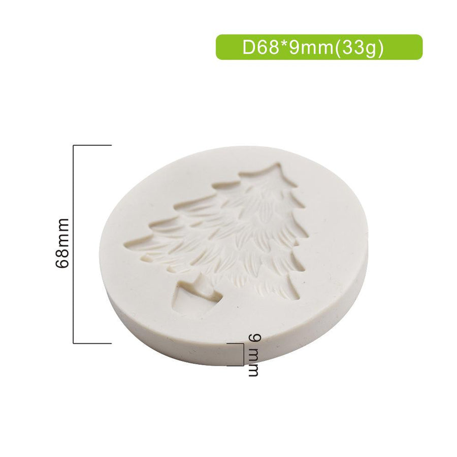 Christmas Tree Mold silicone cake decorating