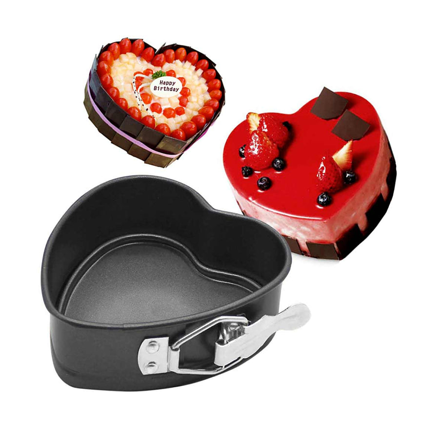 Heart Shape Buckle Cake Pan