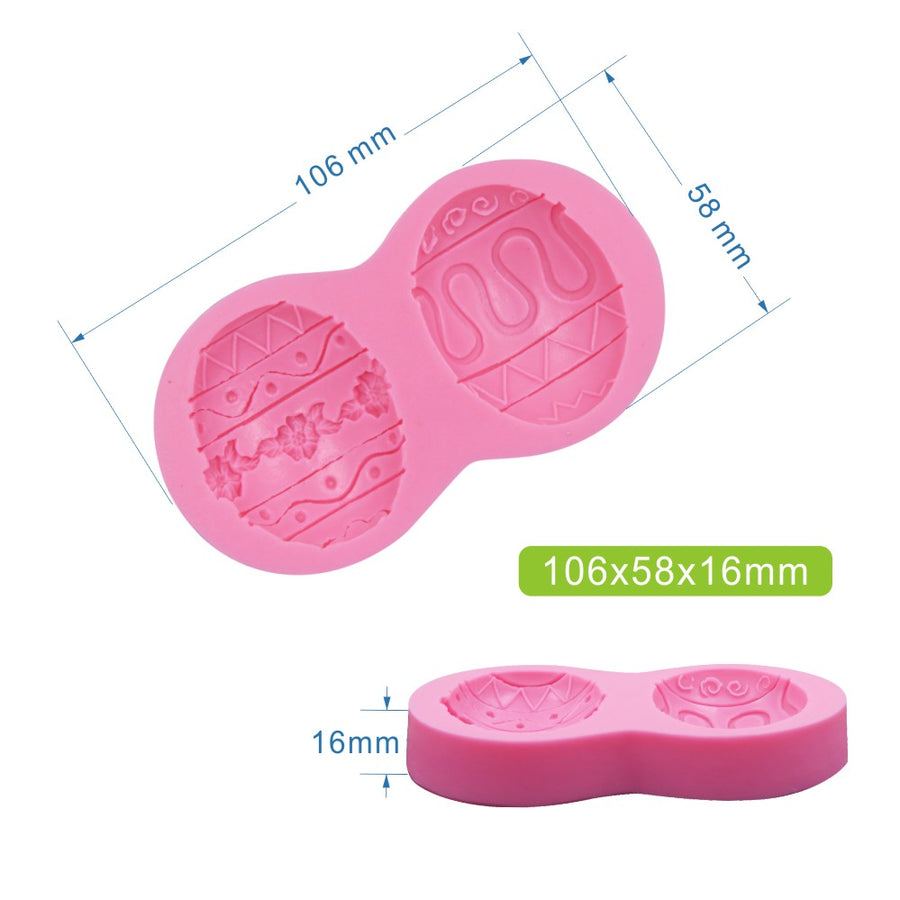 Easter Egg Mold silicone cake decorating