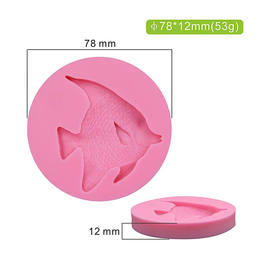 Fish Mold 100% Food Grade silicone cake decorating