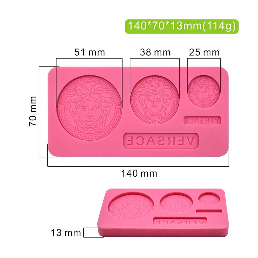 Designer Mold silicone cake decorating