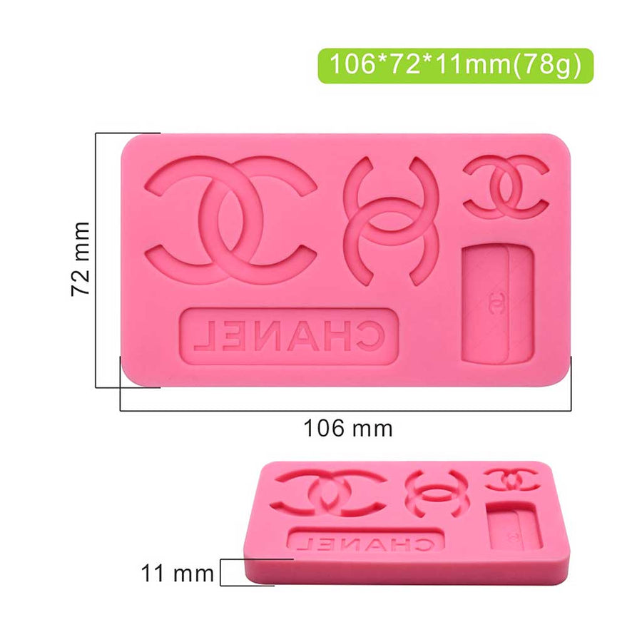 Large Designer Mold silicone cake decorating