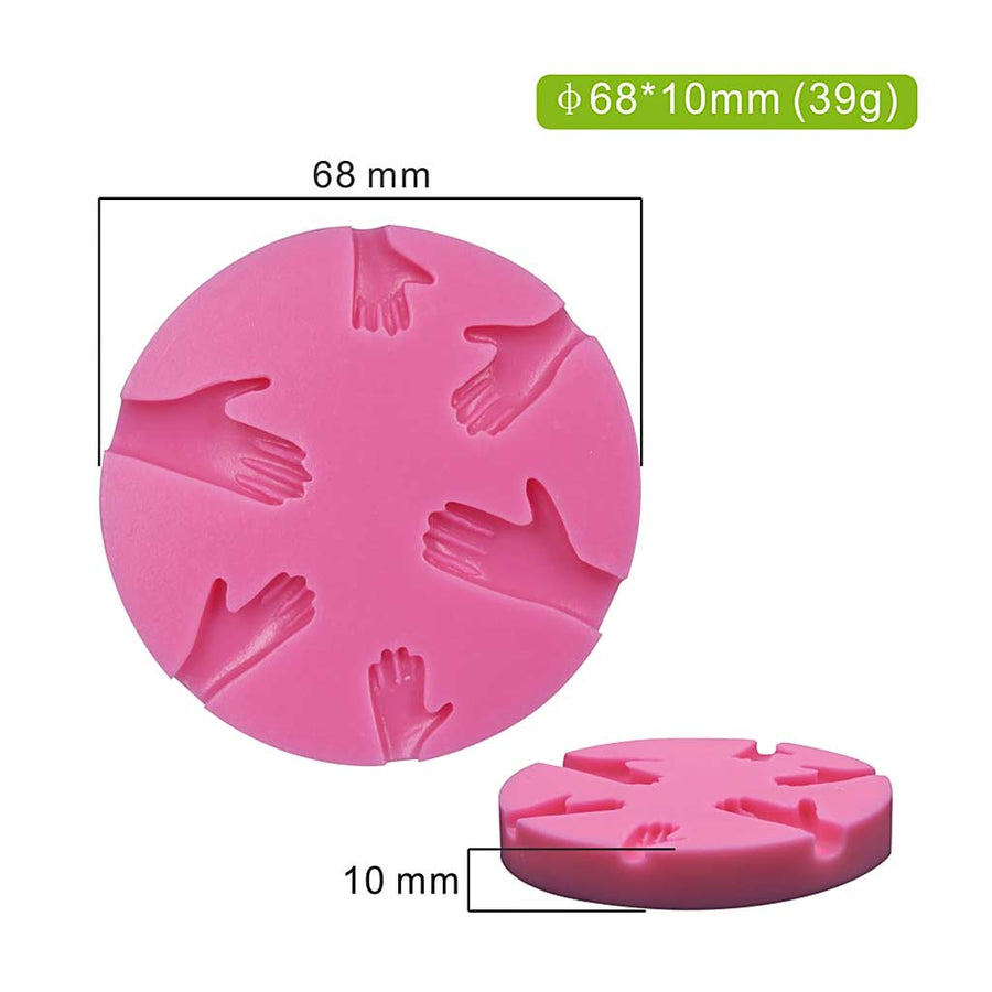 Mini Hands Mold silicone cake decorating
