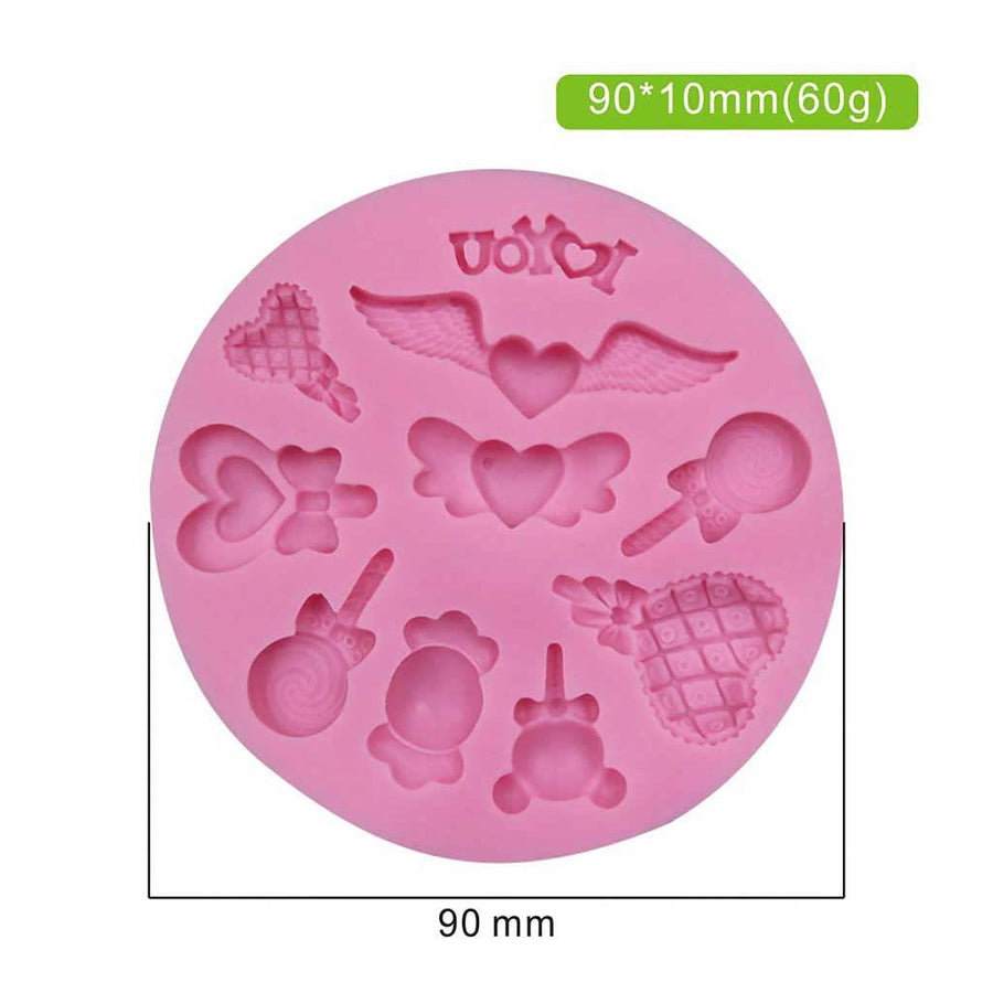 Love Themed Mold silicone cake decorating