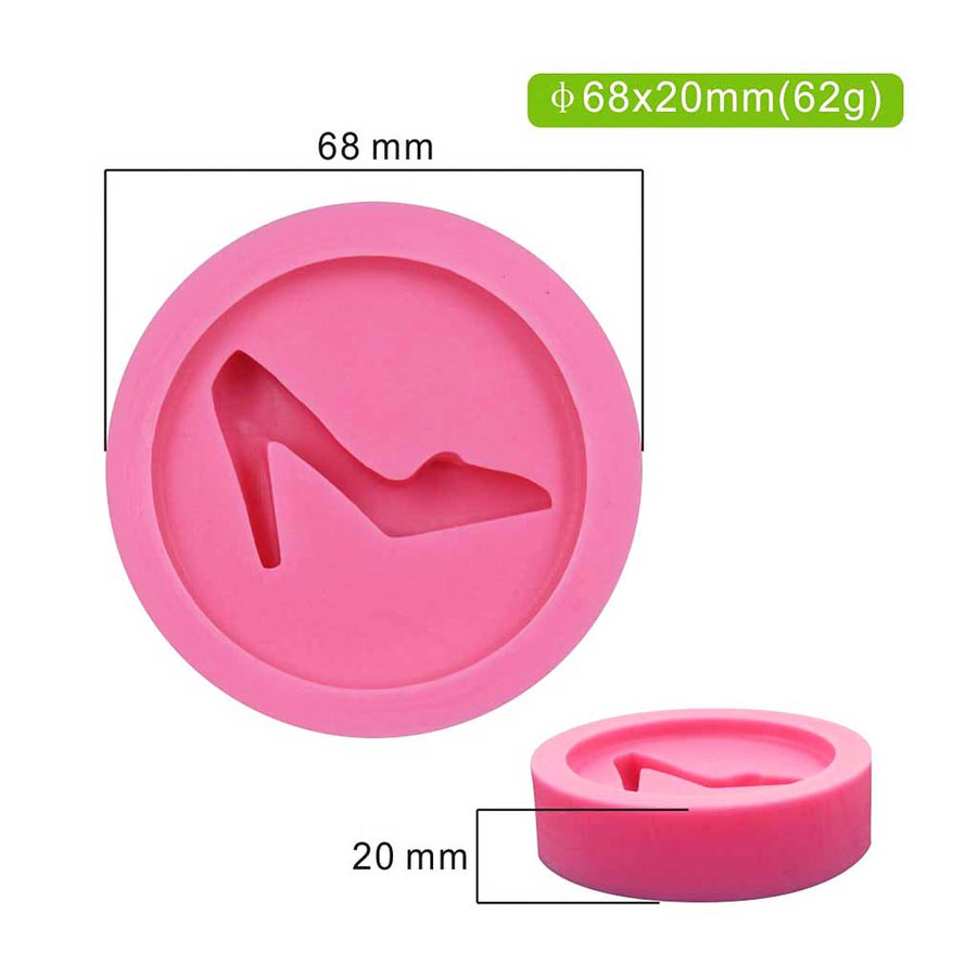 High Heel Shoe Mold silicone cake decorating
