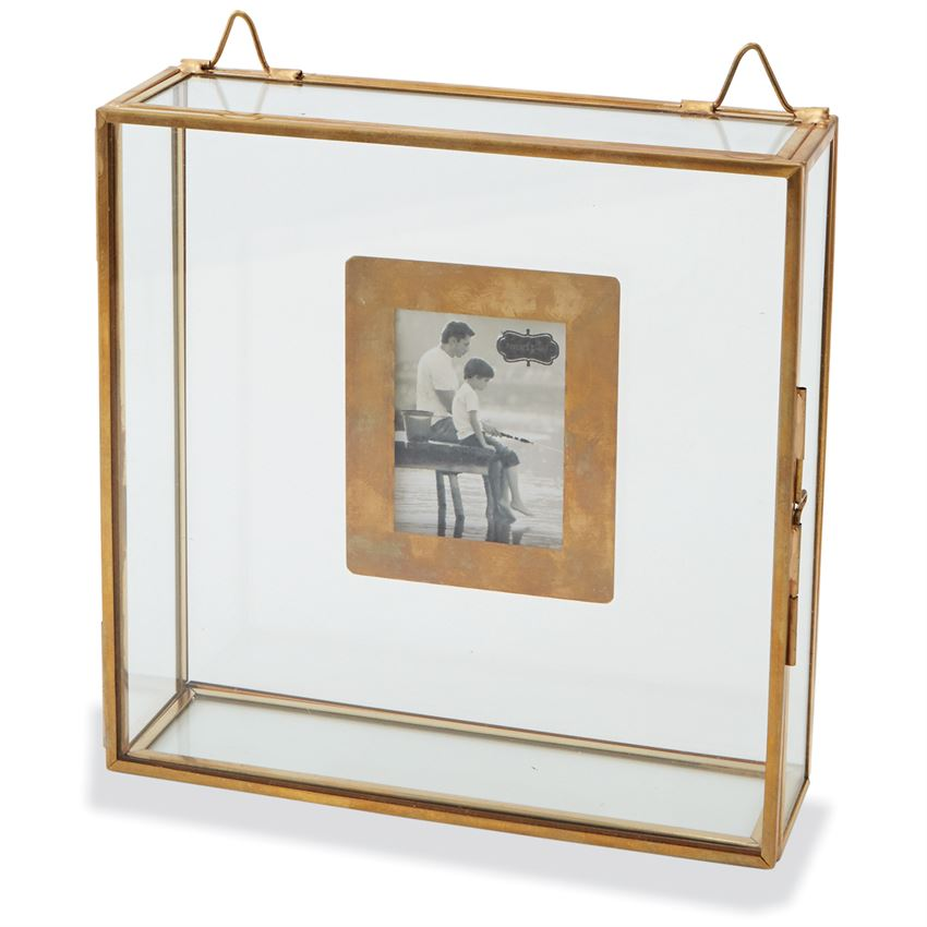 Floor Decor Military Discount: Glass Shadow Box Frames Set Of 2