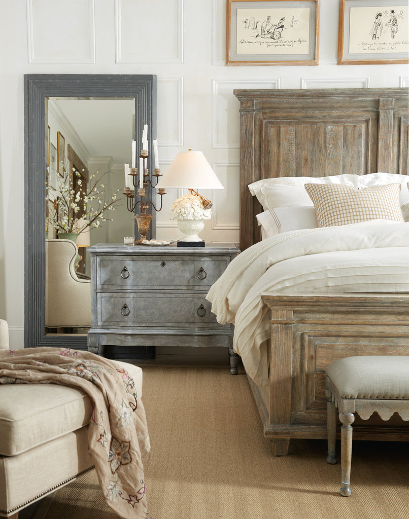 Laurier Panel Bed & Headboard
