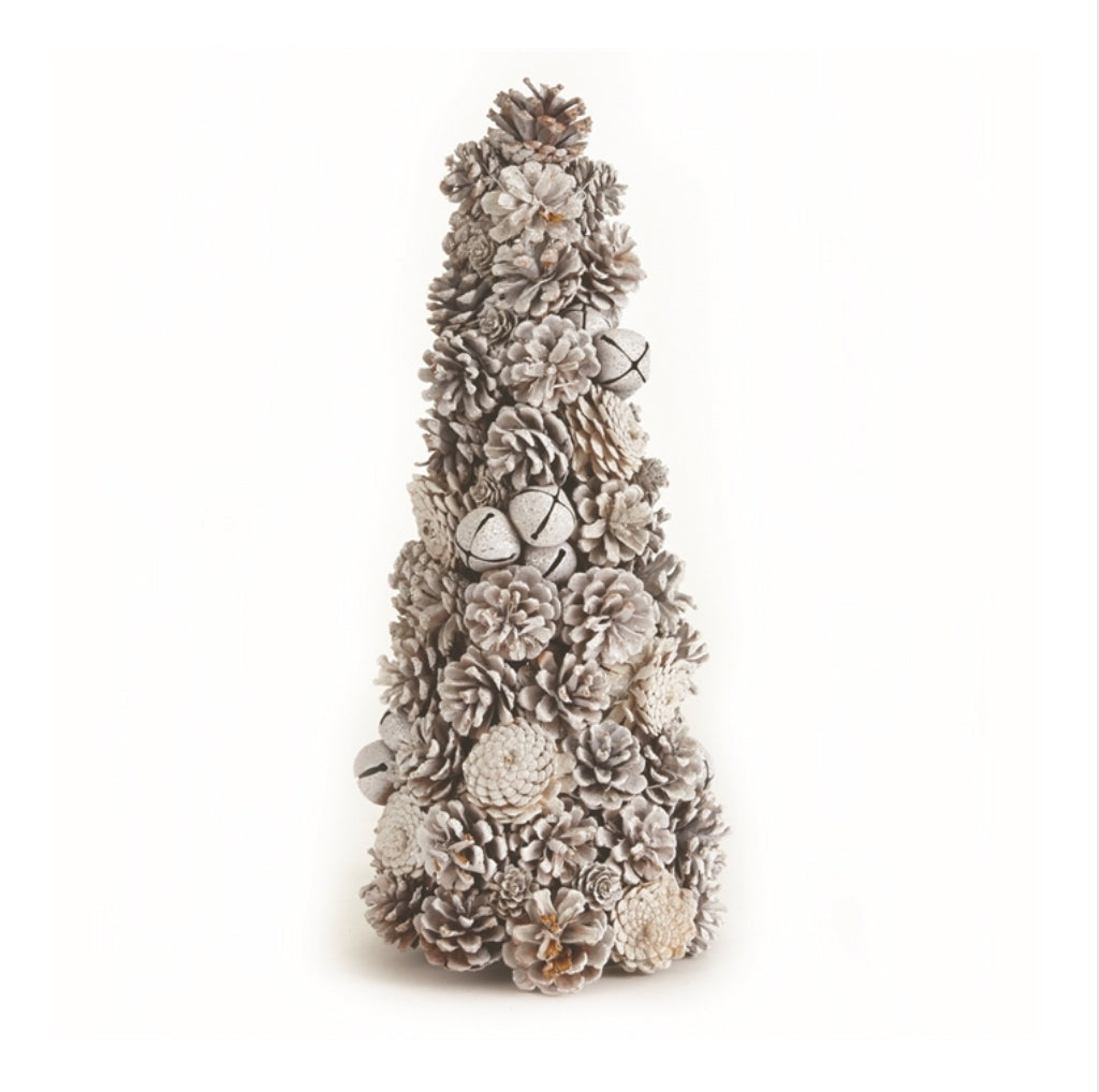 "Frosty Woodland Topiary 24.5""H"