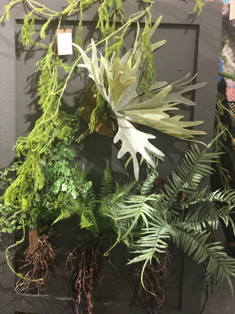 Faux Staghorn Fern