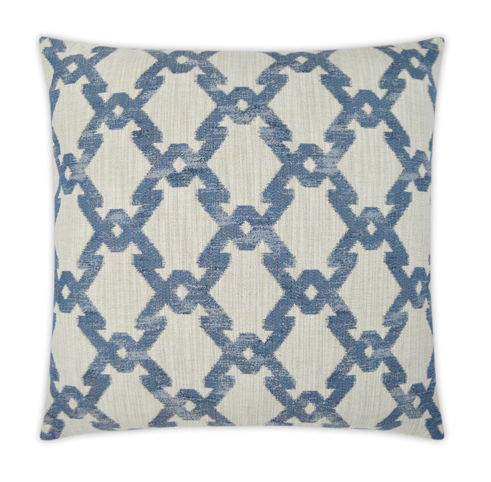 Paradox in Denim 22 x 22 Pillow