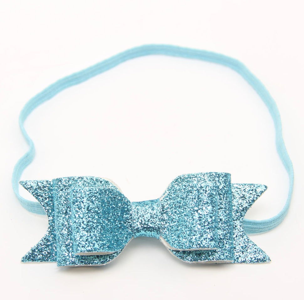 Kayla Blue Sparkle Headband