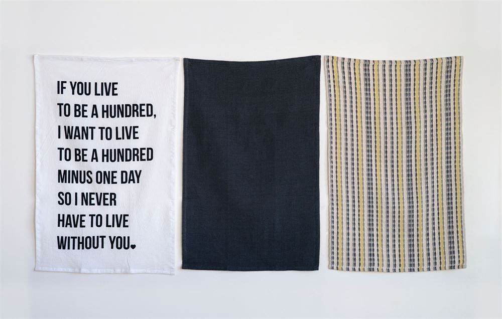 Set of 3 Cotton Tea Towels