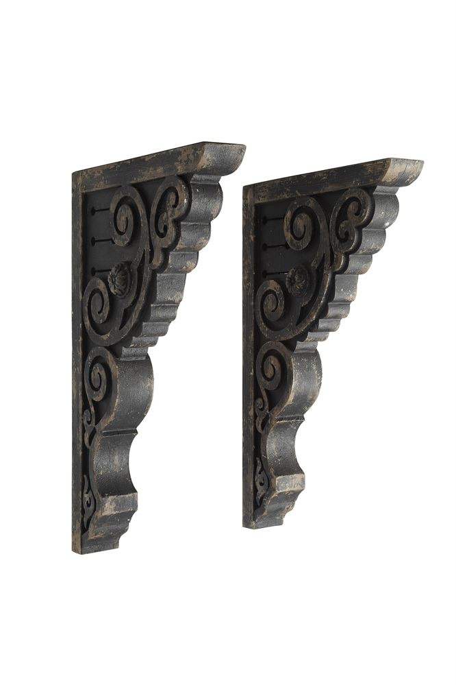 Distressed Corbels -  Set of 2