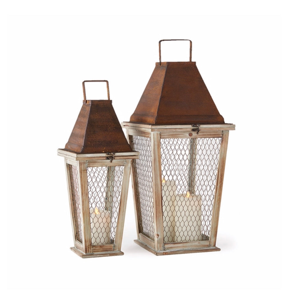 Monticello Lanterns Set of 2