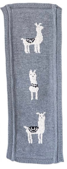 Cotton Knit Burp Cloth w/ Animal, 3 Styles