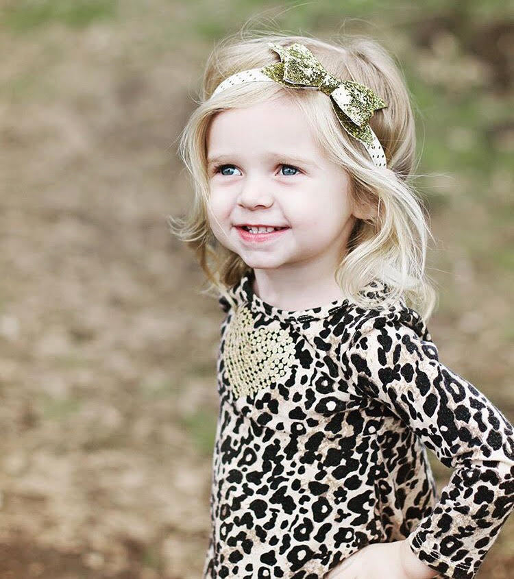 Gold Kayla Sparkle Headband