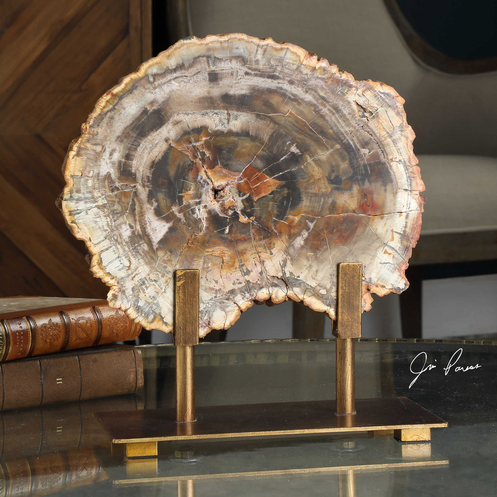 Petrified Wood Scupture