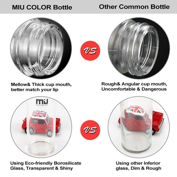 miucolor water bottle with high-quality 304 stainless steel